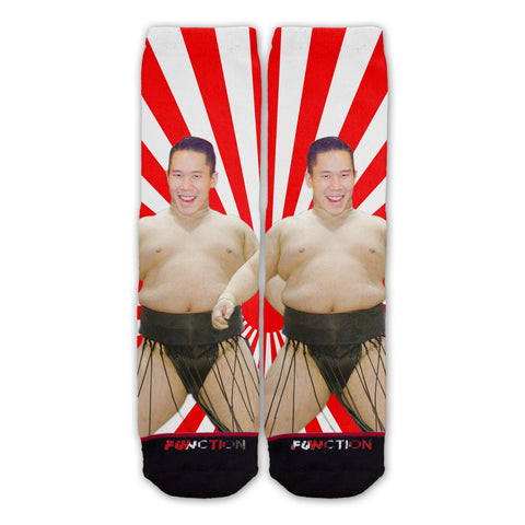 Custom Sumo Wrestler Fashion Sock