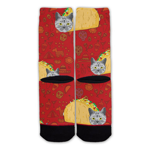 Function - Taco Cat Fashion Sock
