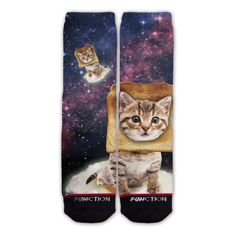 Function - Toast Cat Fashion Socks