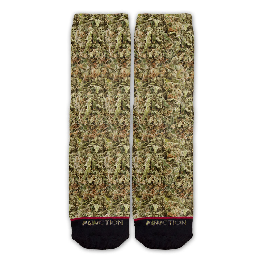 Function - Weed Bud Fashion Sock