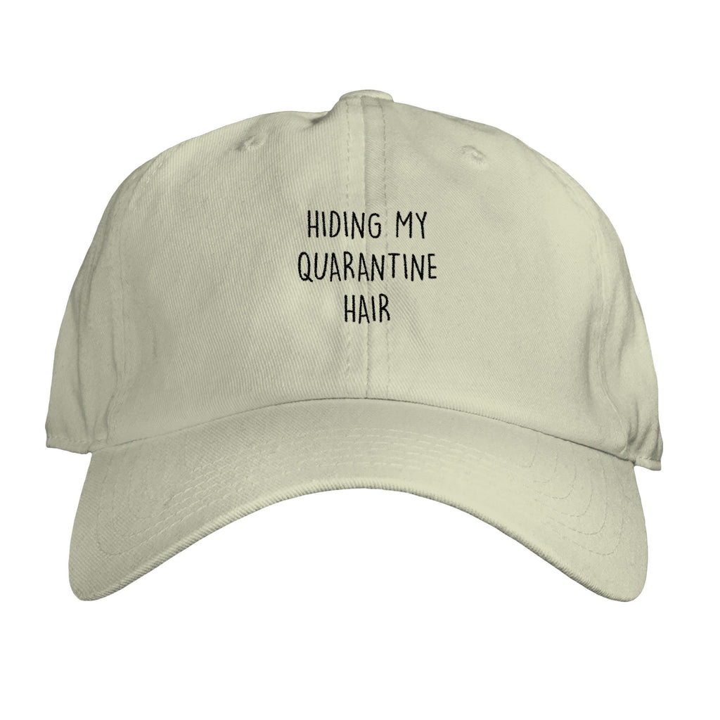 Function - Hiding My Quarantine Hair Funny Embroidered Adjustable Dad Hat