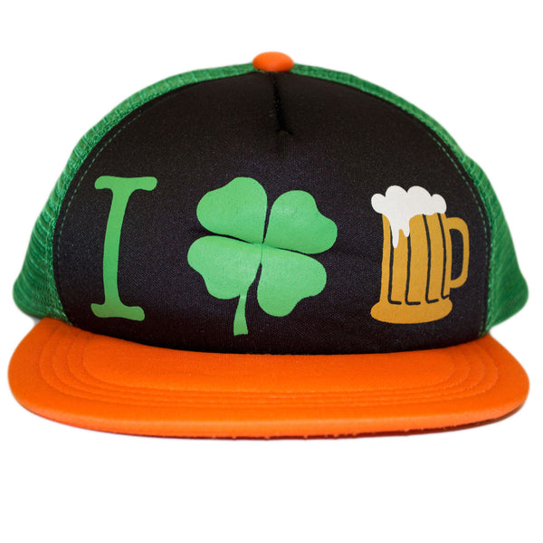 Function - St. Patrick's Day I Shamrock Beer Snapback Hat