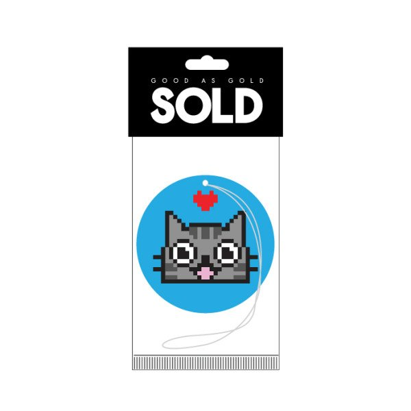Sold - BLUE CAT AIR FRESHENER