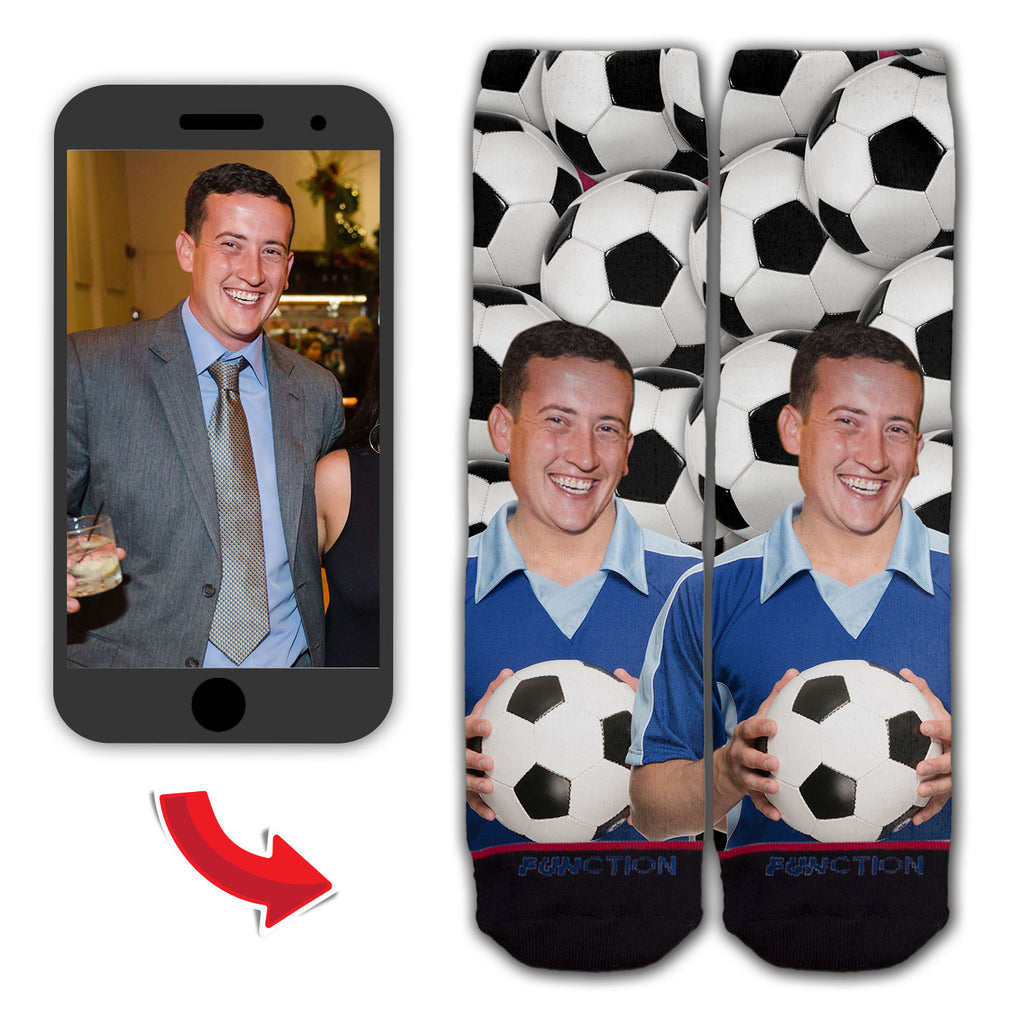 Custom Soccer Player Fashion Sock