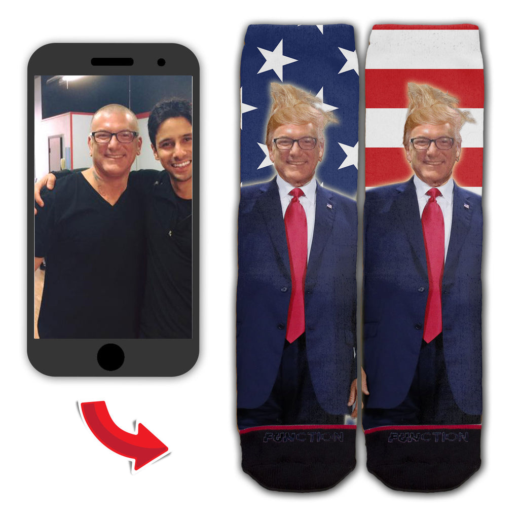 Custom Donald Trump Fashion Socks