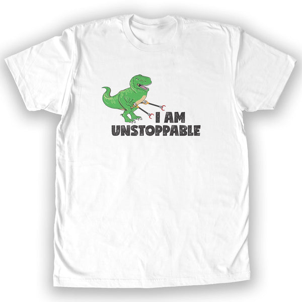 Function - I Am Unstoppable T-Rex Men's Fashion T-Shirt