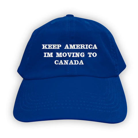 Function - Keep America I'm Going to Canada Men's Dad Hat