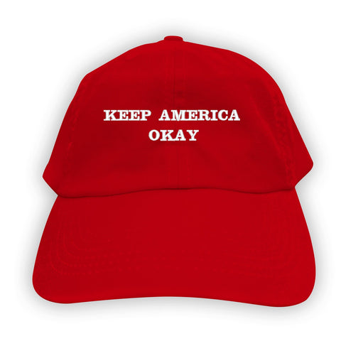 Function - Keep America Okay Men's Dad Hat Red