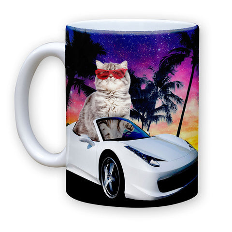 Function - Miami Cat 11 oz Coffee Mug