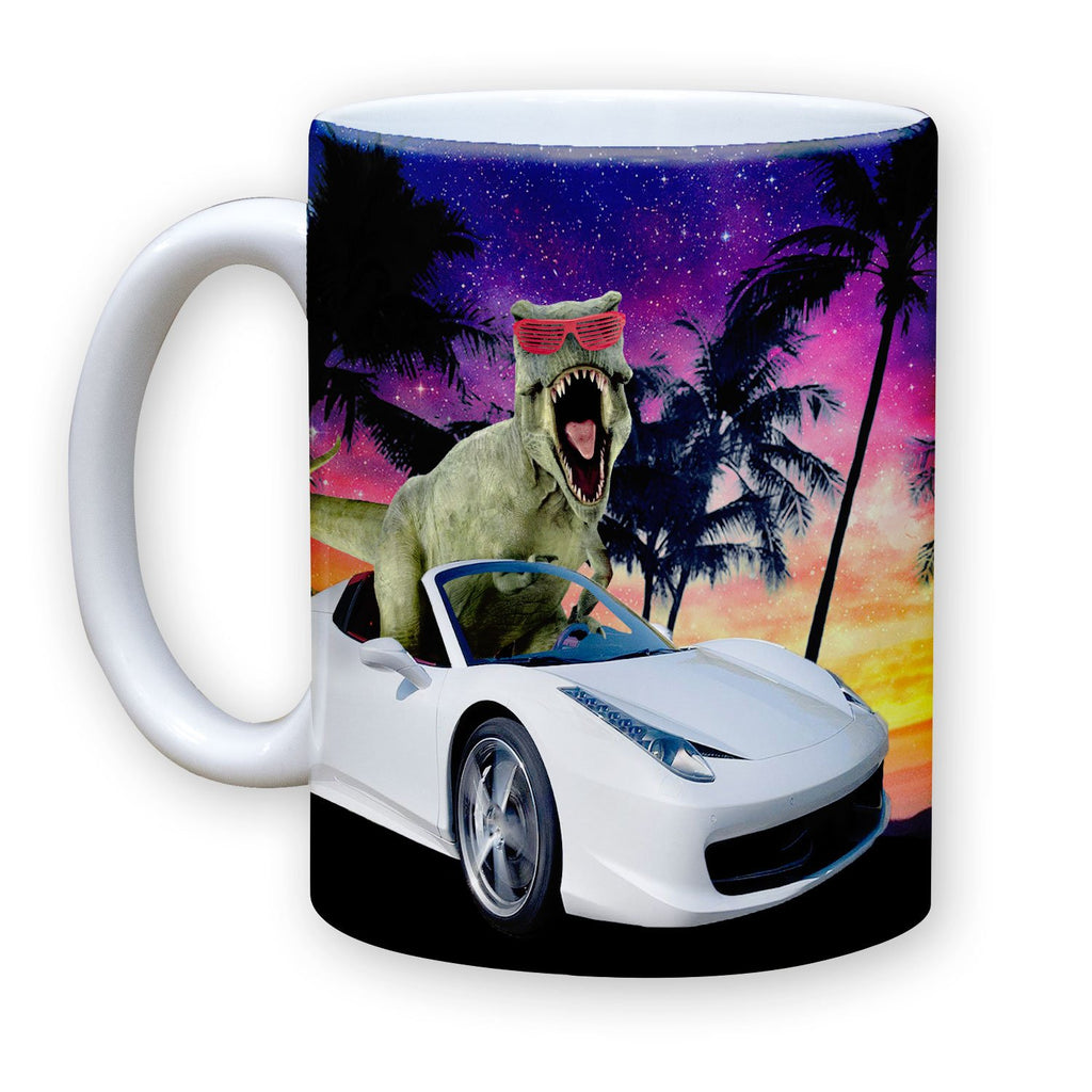 Function - Miami T-Rex 11 oz Coffee Mug