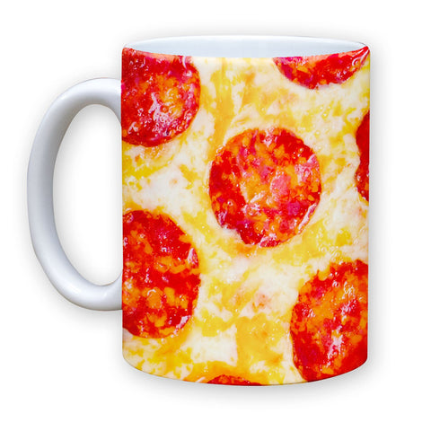 Function - Pepperoni Pizza 11 oz Coffee Mug