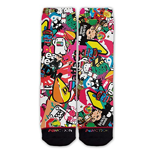 Function - Jdm Sticker Bomb Fashion Socks