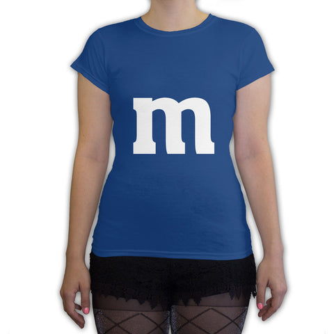 Function -  M Candy Costume  Women's Fashion T-Shirt Royal Blue