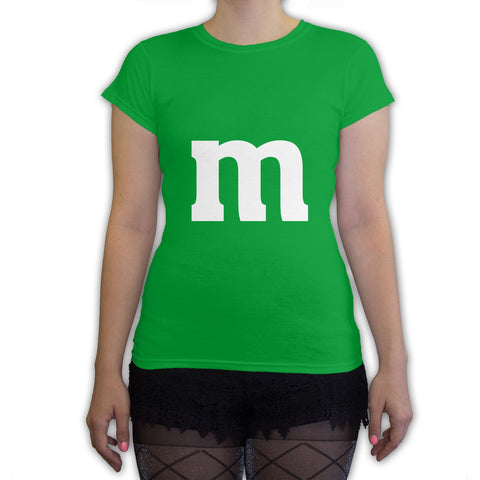 Function -  M Candy Costume  Women's Fashion T-Shirt Kelly Green