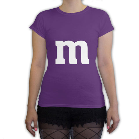 Function -  M Candy Costume  Women's Fashion T-Shirt Purple