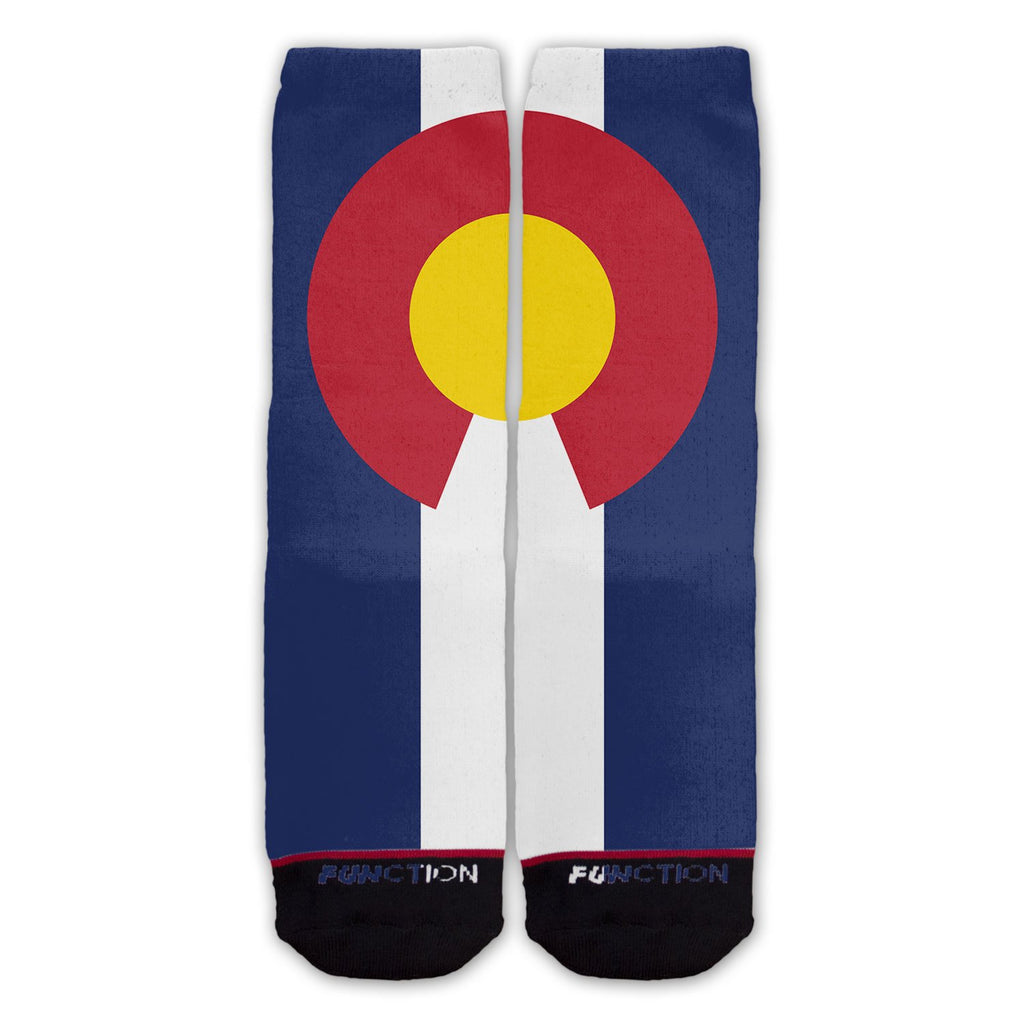 Function - Colorado State Flag Fashion Socks
