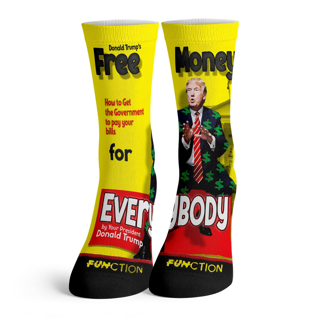 Function - Donald Trumps Free Money Socks