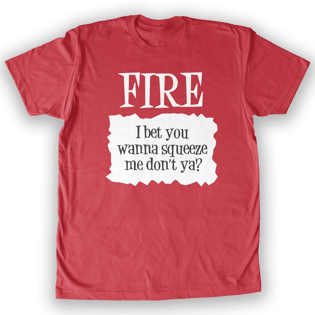 Function -  Fire Hot Sauce Costume Men's Fashion T-Shirt Red