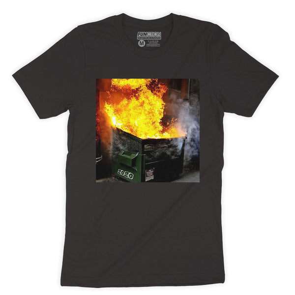 Function - Realistic 2020 Dumpster Fire T-shirt