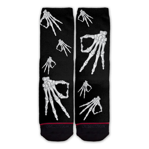Function - Skeleton Circle Game Fashion Socks