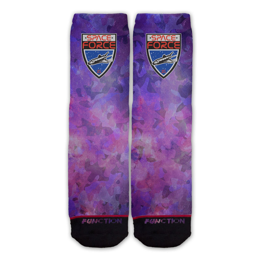 Function - Space Force Galaxy Camo Fashion Socks