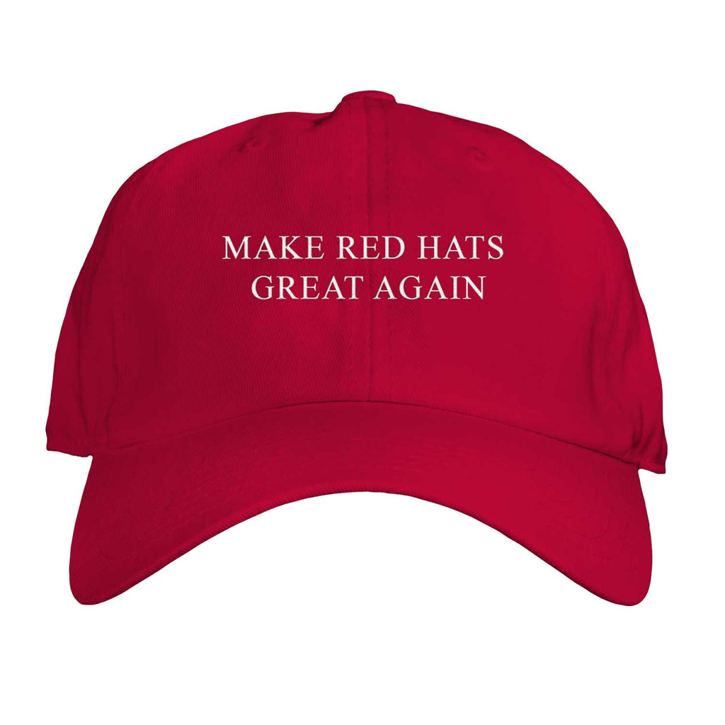 Function - Make Red Hats Great Again Embroidered Adjustable Unisex Dad Hat Cap Democrat Anti Trump