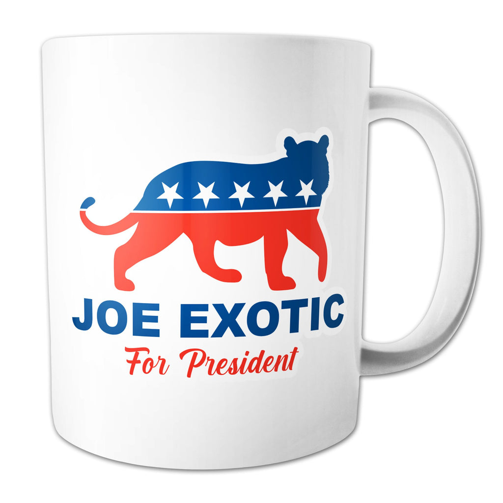 Function - Joe Exotic For President 11 oz Coffee Mug