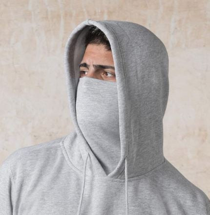 Face Cover Gaiter Hoodie