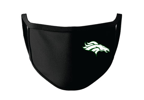 Hempstead Mustang Face Mask