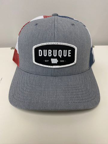 Dubuque Stars and Stripes Hat