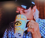 Tiger King Iowa Hawkeye Cermic Mug 20 oz.