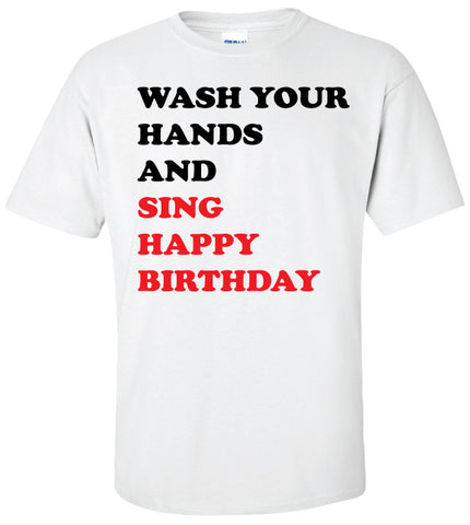 Wash Your Hands and Sing Happy Birthday