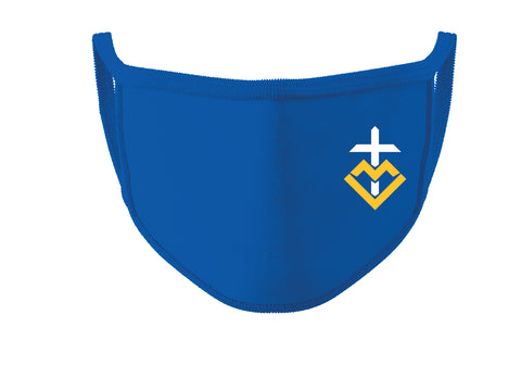 Wahlert Golden Eagles Crest Face Mask