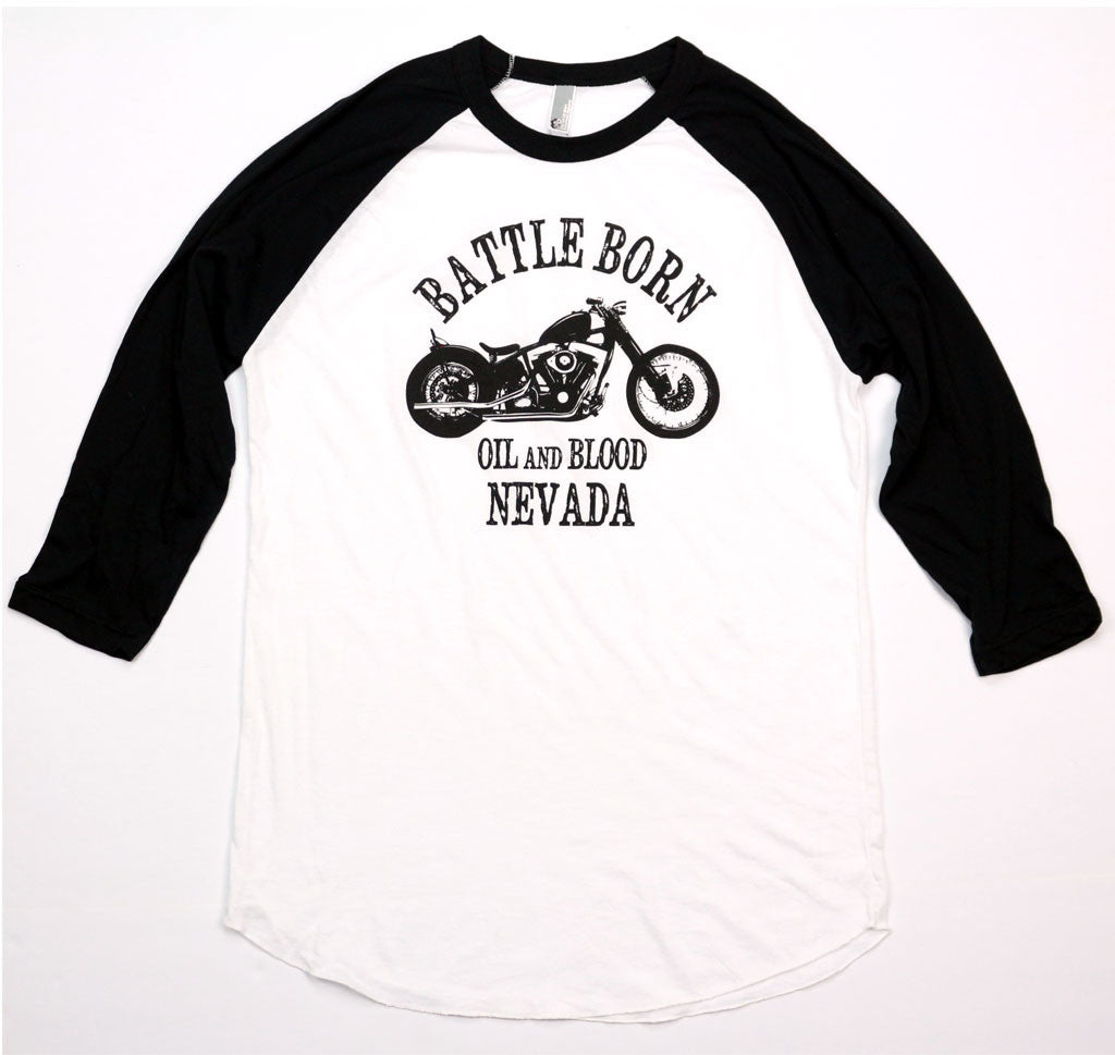 Battle Born Baseball Tees.