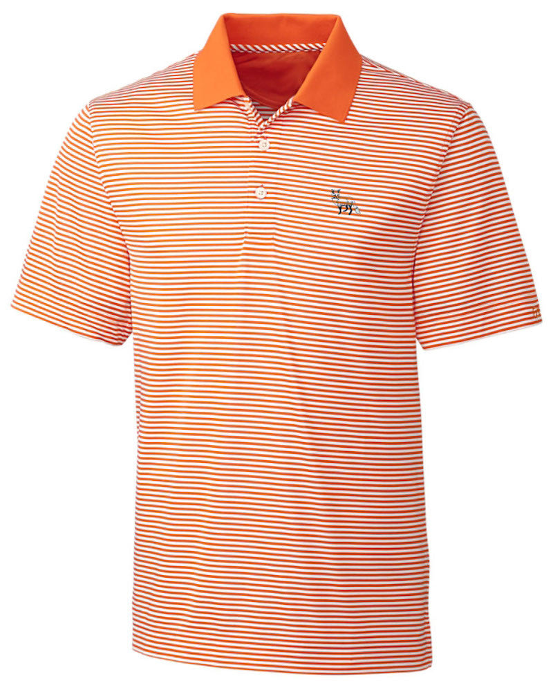 Charlee Polo - Orange Stripe