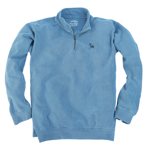 1/4 Zip Pullover - Blue Ridge Blue