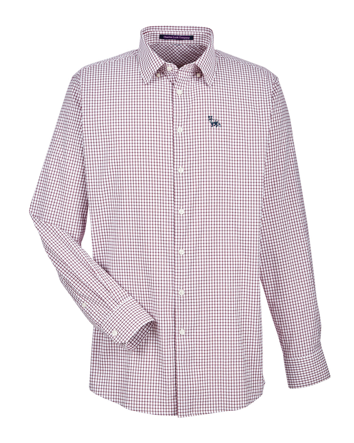 The Sport Button Down Burgundy