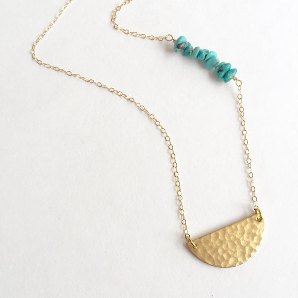 Charlie Necklace in Turquoise