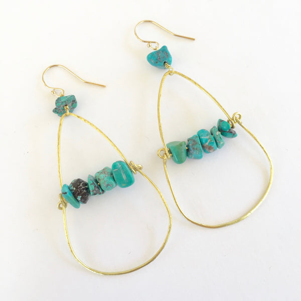 Piper Earrings in Turquoise