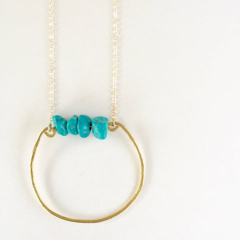 Rebecca Necklace in Turquoise
