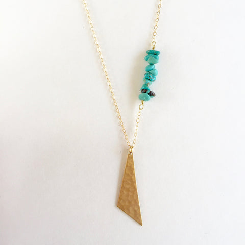 Harper Necklace in Turquoise