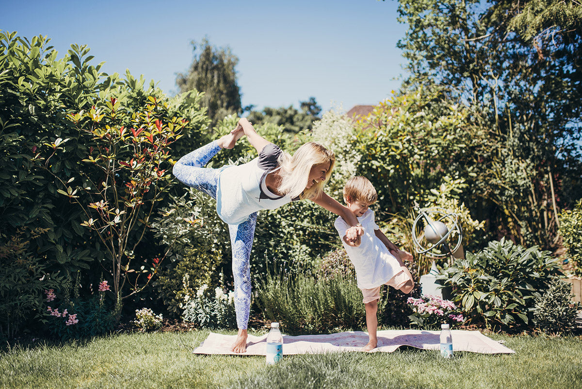 Gemma & Son Stretching
