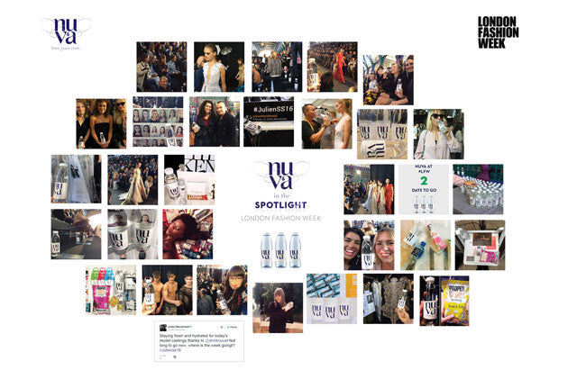 Nuva at London Fashion Week Spotlight Board - Smaller Version