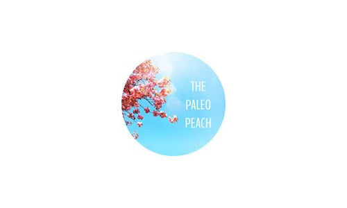 The Paleo Peach logo