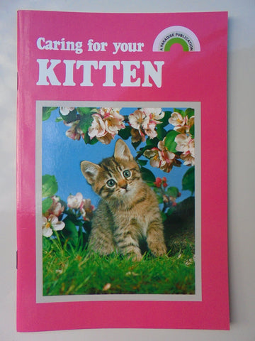 ~PET BOOK KITTEN~