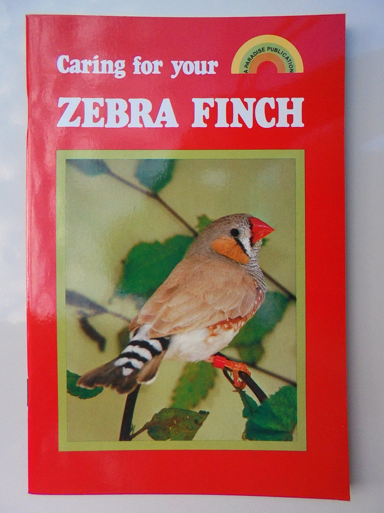 ~PET BOOK ZEBRA FINCH~