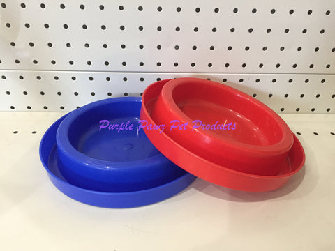 ~ANT FREE / DOG OR CAT BOWLS / 2PK / BLUE/RED~