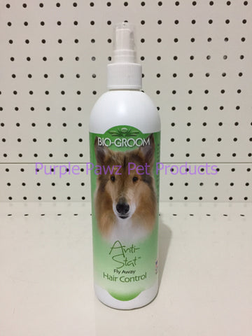 ~BIO-GROOM / ANTI-STAT / FLY AWAY HAIR CONTROL / 355ML~