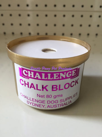 ~CHALLENGE / CHALK BLOCK / SHOW DOG / 80G~