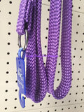 ~BEAU PETS / DOG LEAD / NYLON / SLIP / PURPLE / 20MM x 120CM~